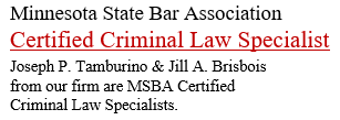 Minnesota State Bar Association: Certified Criminal Law Specialist